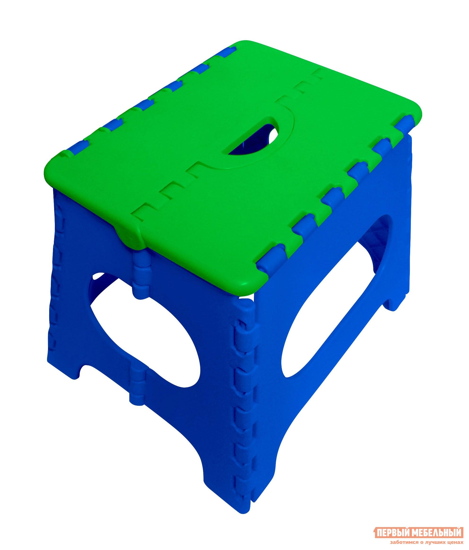 Фото Табурет Трикап Табурет складной средний Синий / Зеленый