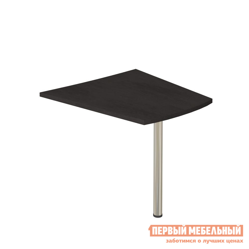 Стол-приставка Riva KB-2 Венге ЦавоСтолы-приставки<br>Габаритные размеры ВхШхГ 765x900x900 мм. Вместительный стол-приставка на одной ножке.  Размер столешницы составляет 900х900 мм. Изделие выполнено из трехслойного ЛДСП высокого качества толщиной 36 мм с защитой торцевых элементов кромкой ПВХ.  Ножка выполнена из металла с пластиковым основанием.<br><br>Цвет: Венге<br>Высота мм: 765<br>Ширина мм: 900<br>Глубина мм: 900<br>Форма поставки: В разобранном виде<br>Срок гарантии: 12 месяцев