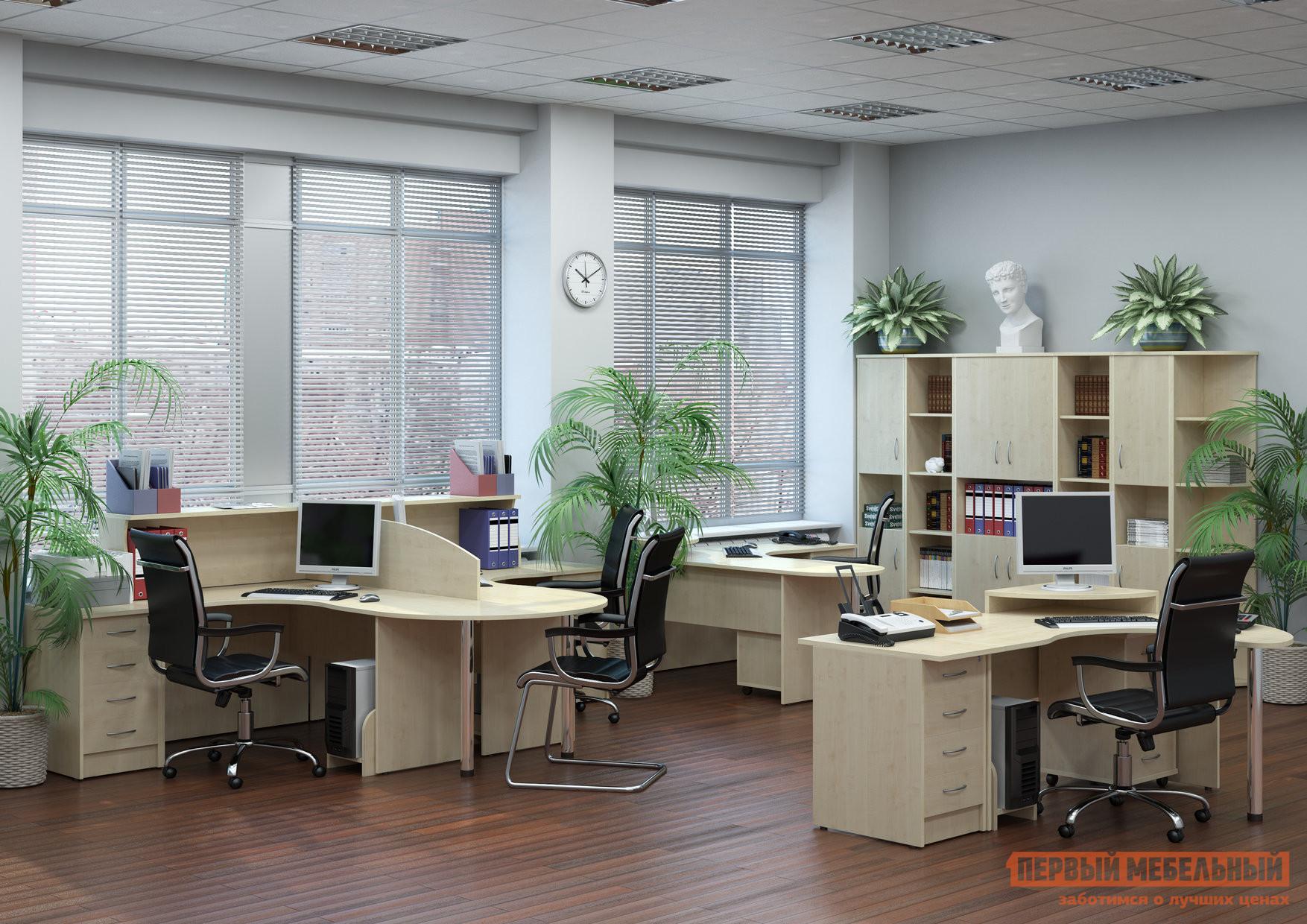 Комплект офисной мебели Riva Рива Клен К2 комплект офисной мебели riva рива клен к1