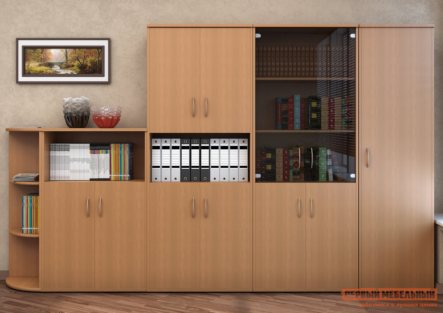 Комплект офисной мебели Riva Рива К2 комплект офисной мебели riva рива клен к1