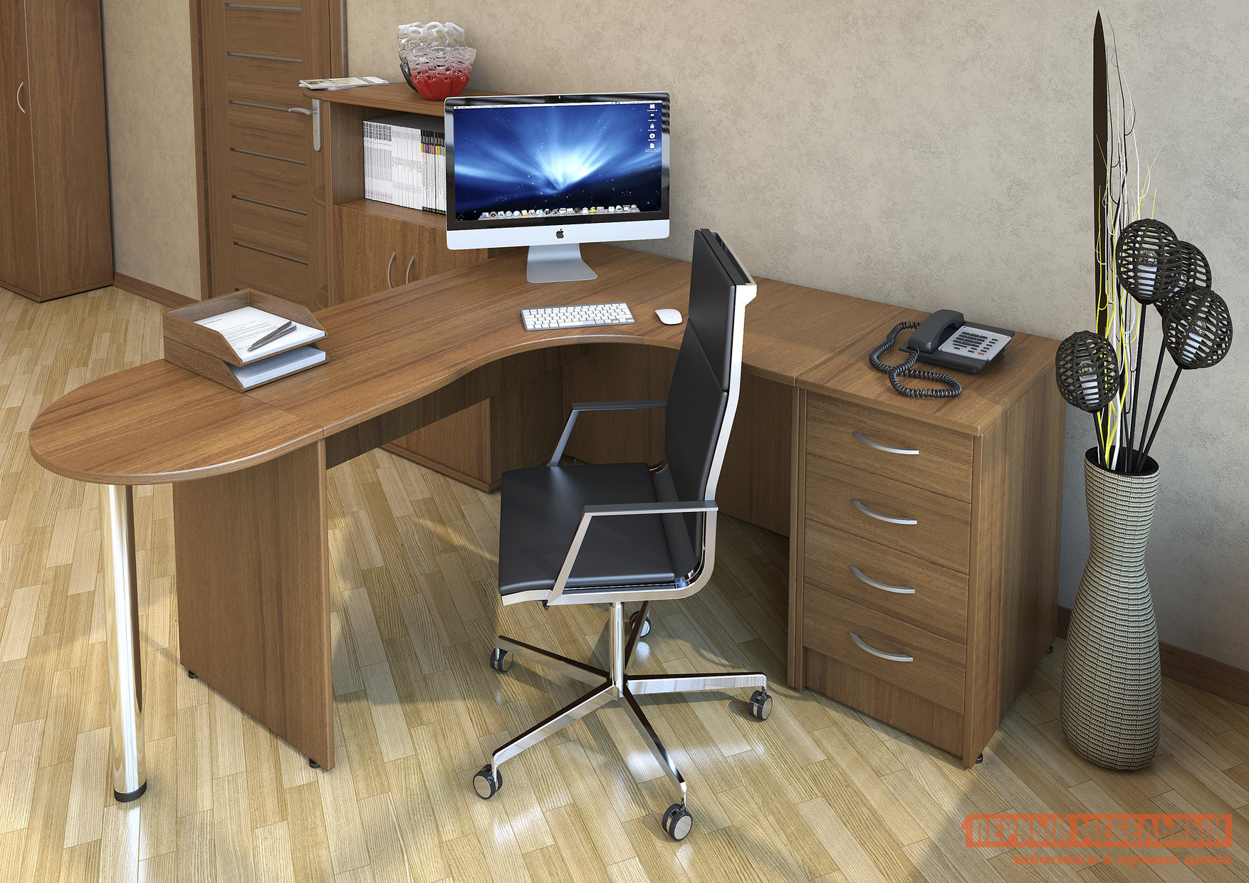 Комплект офисной мебели Riva Рива К5 комплект офисной мебели riva рива клен к1