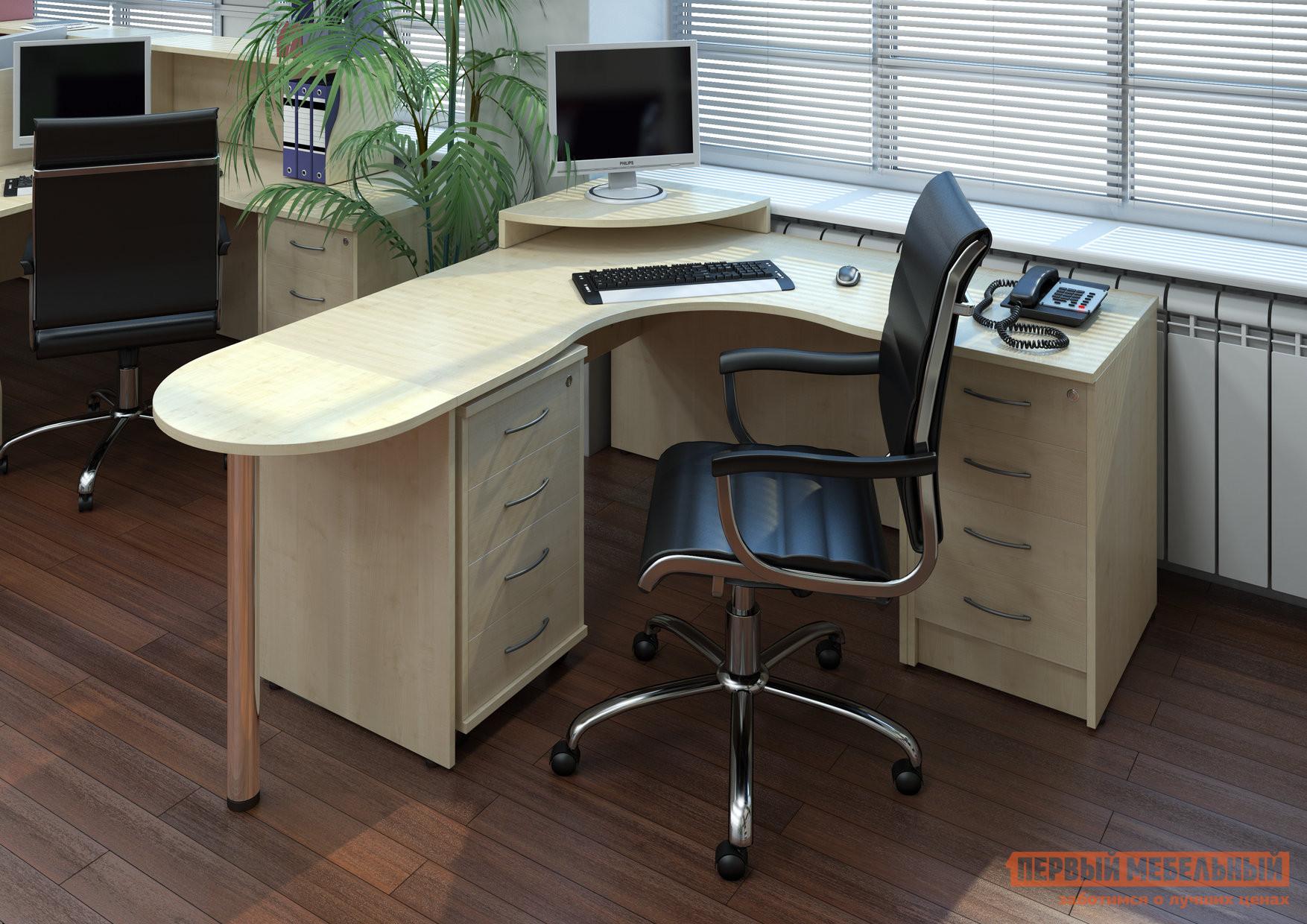 Комплект офисной мебели Riva Рива Клен К1 комплект офисной мебели riva рива клен к1