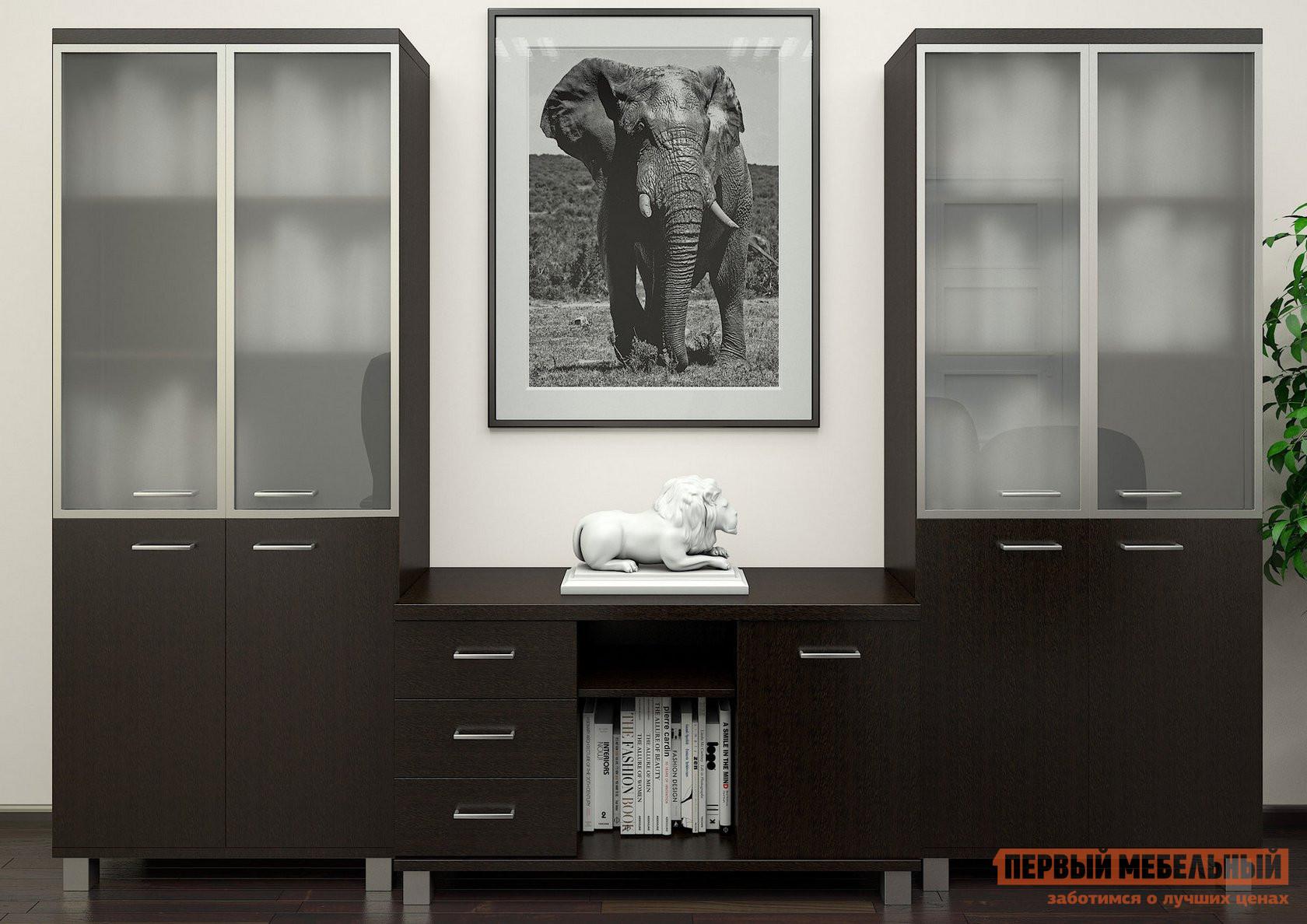 Комплект офисной мебели Riva Фёст Венге К3 комплект офисной мебели pointex свифт к3 темный