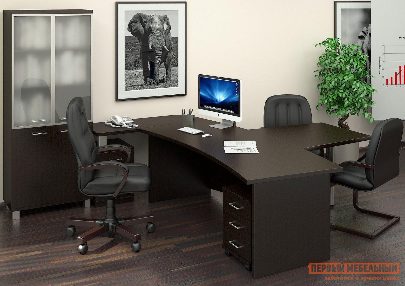 Комплект офисной мебели Riva Фёст Венге К1 комплект детской мебели мебельсон амели м к1