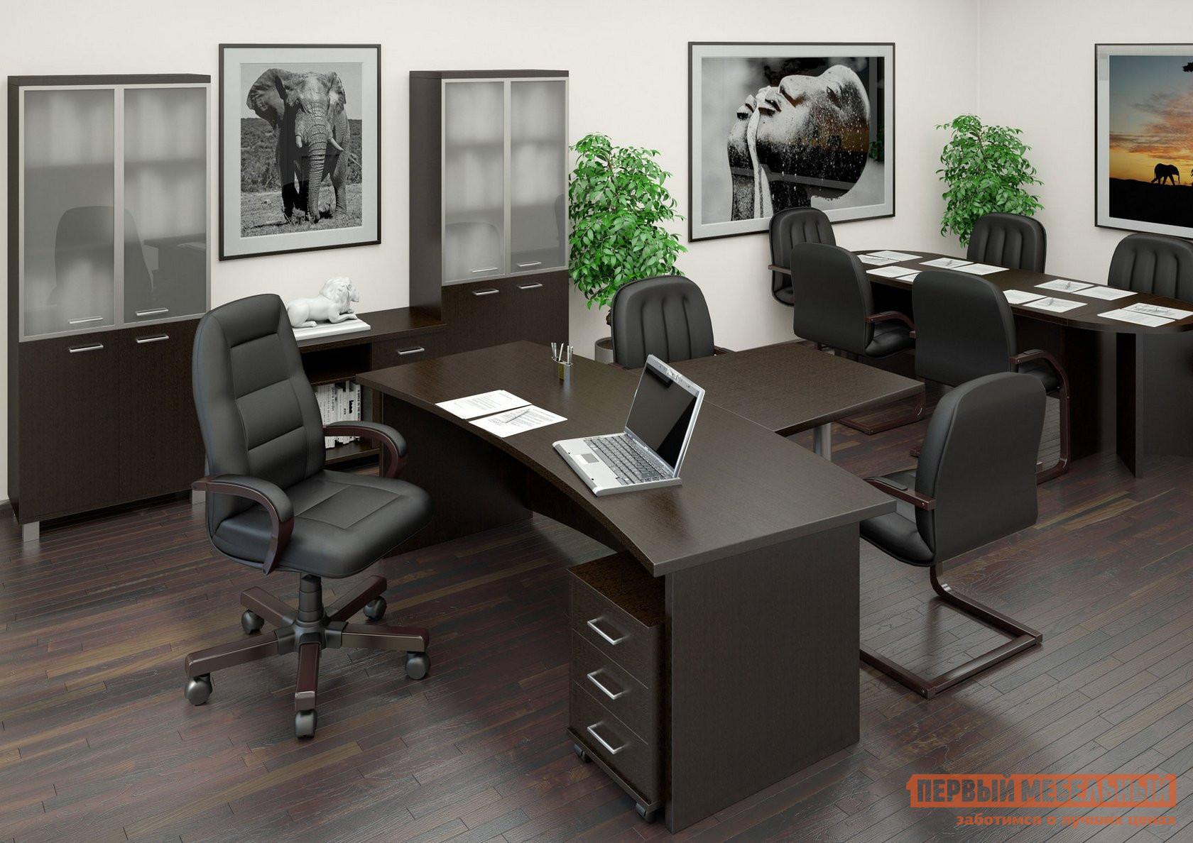 Комплект офисной мебели Riva Фёст Венге К2 комплект офисной мебели riva рива ресепшн к1