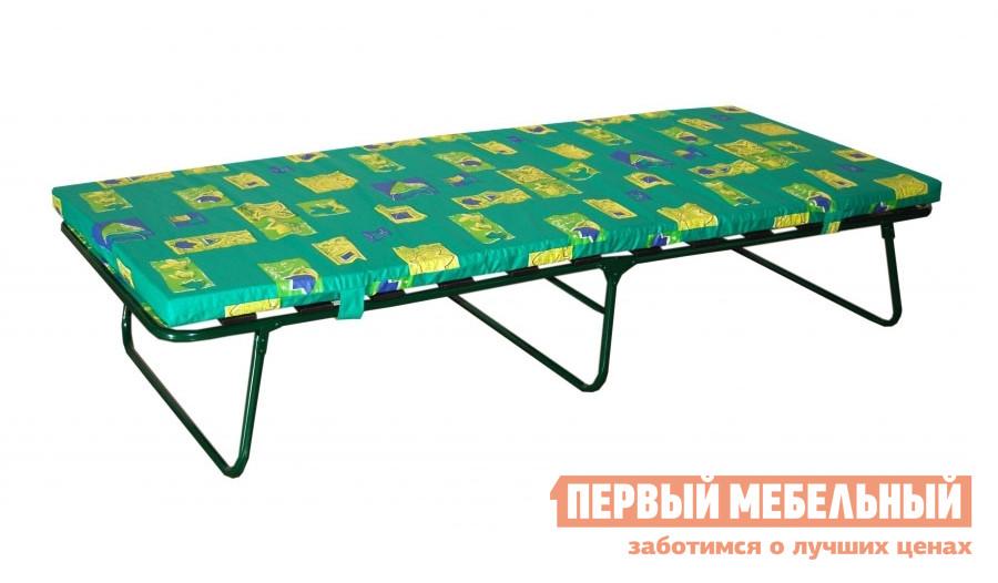 Раскладушка OLSA Верона с401 В ассортиментеРаскладушки<br>Габаритные размеры ВхШхГ 410x790x1940 мм. Раскладная кровать с основанием из ламелей.  Модель не уступает по комфорту полноценной односпальной кровати.  Удобное основание и мягкий матрас сделаю ваш отдых комфортным.  В сложенном виде кровать имеет форму тумбы, которую удобно транспортировать и хранить. Каркас изготовлен из стальной трубы, обработанной полимерным покрытием.  Матрас выполнен из набивного тика, наполненного листовым поролоном.  Толщина матраса составляет 50 мм. Матрас несъемный.  Он имеет фиксированное крепление к основанию. Максимально допустимая нагрузка — 180 кг. Обратите внимание! Расцветка матраса и каркаса может отличаться от изображения.<br><br>Цвет: В ассортименте<br>Цвет: В ассортименте<br>Высота мм: 410<br>Ширина мм: 790<br>Глубина мм: 1940<br>Кол-во упаковок: 1<br>Форма поставки: В собранном виде<br>Срок гарантии: 18 месяцев<br>Тип: С матрасом, До 180 кг<br>Материал: Металлические, из стали<br>Особенности: На ламелях