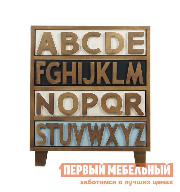 Комод Этажерка Alphabeto RE-032ETG/4