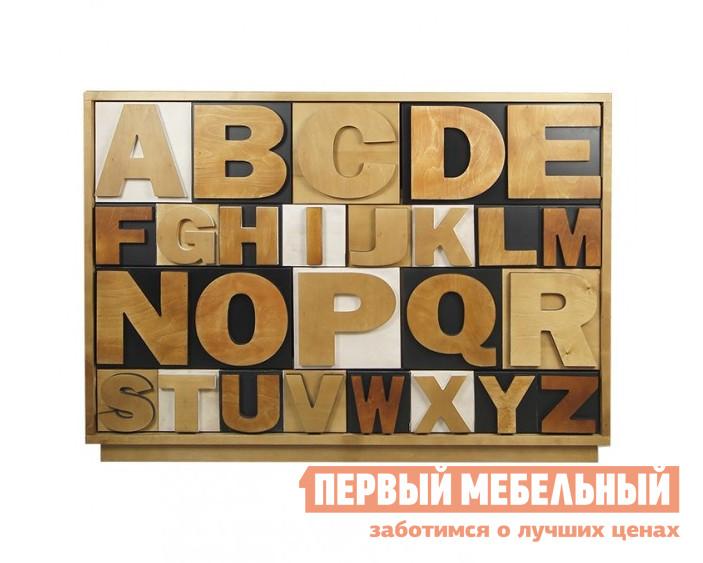 Комод Этажерка Alphabeto AL-01/2ETG/2