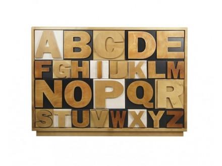 Комод Alphabeto AL-01/2ETG/2 Алфавит-01