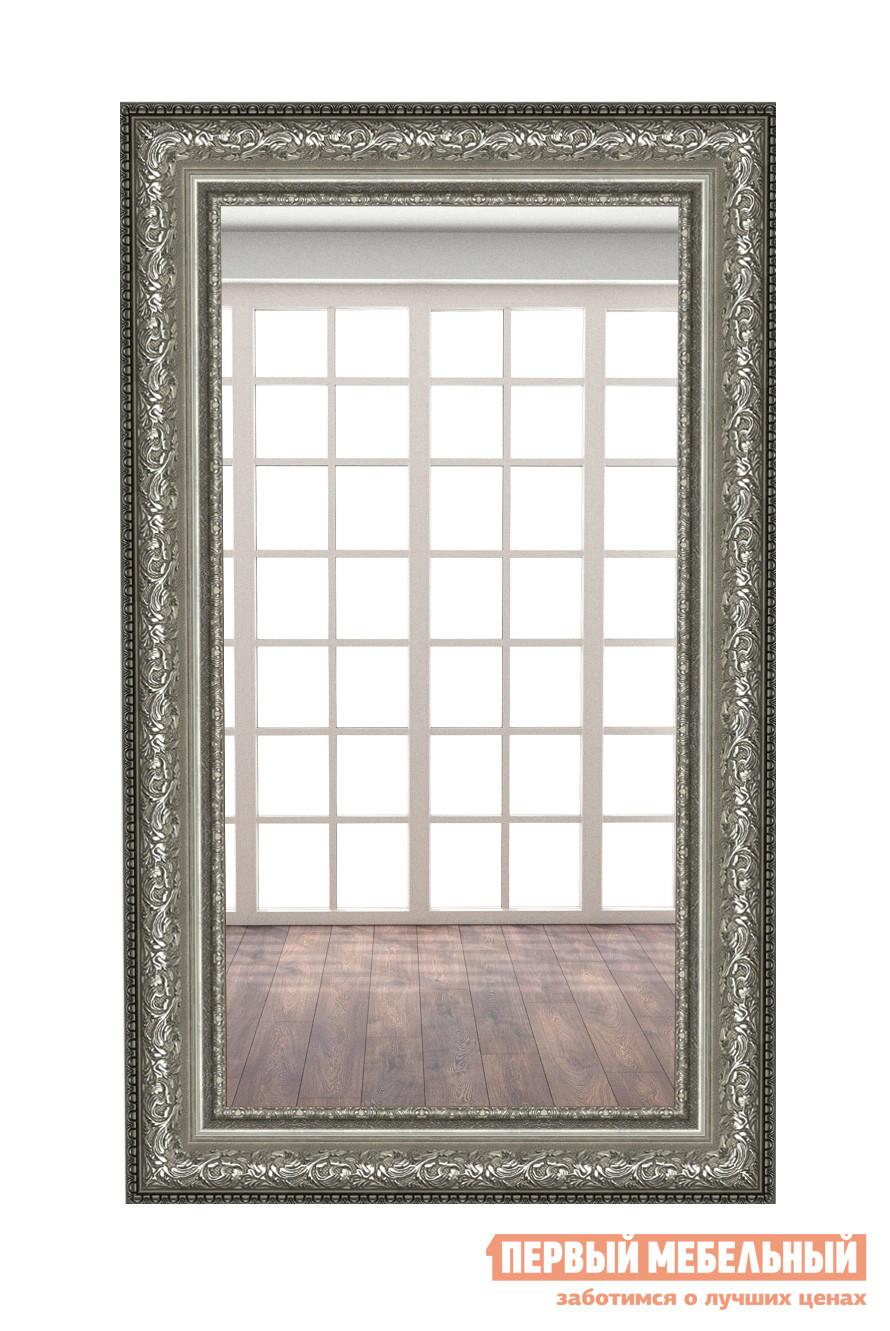 Настенное зеркало МегаЭлатон В раме №8 1500 Х 900 мм, Багет темный гранит