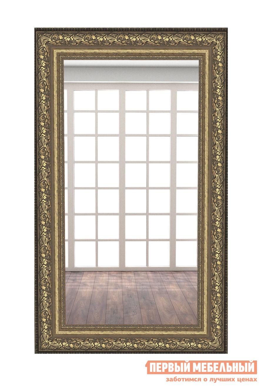 Настенное зеркало МегаЭлатон В раме №9 1500 Х 900 мм, Багет шоколад