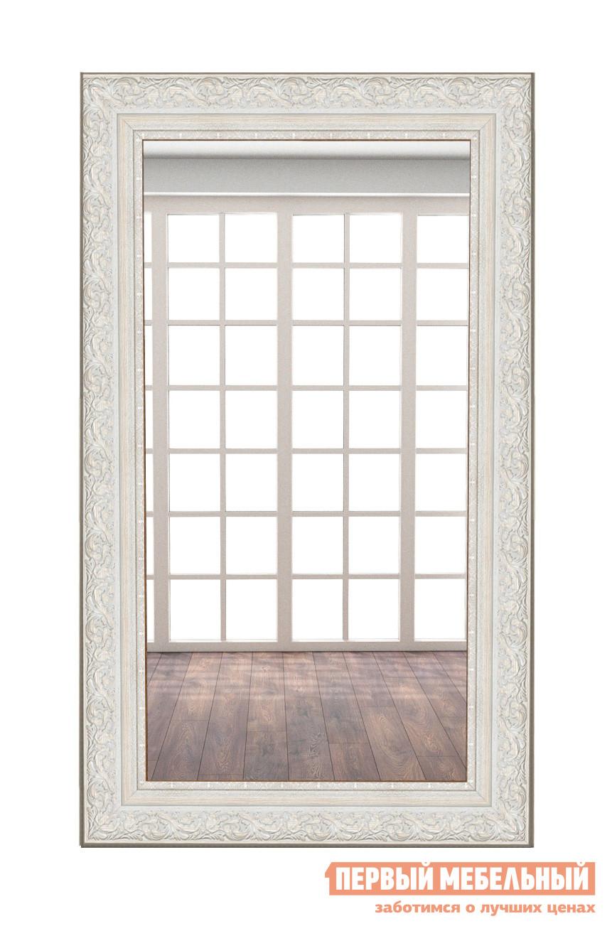 Фото Настенное зеркало МегаЭлатон В раме №10 1800 Х 1000 мм, Багет бежевый. Купить с доставкой