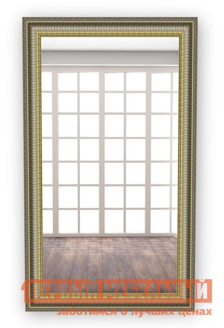 Настенное зеркало МегаЭлатон В раме №3 Багет серебро, 850 Х 500 мм