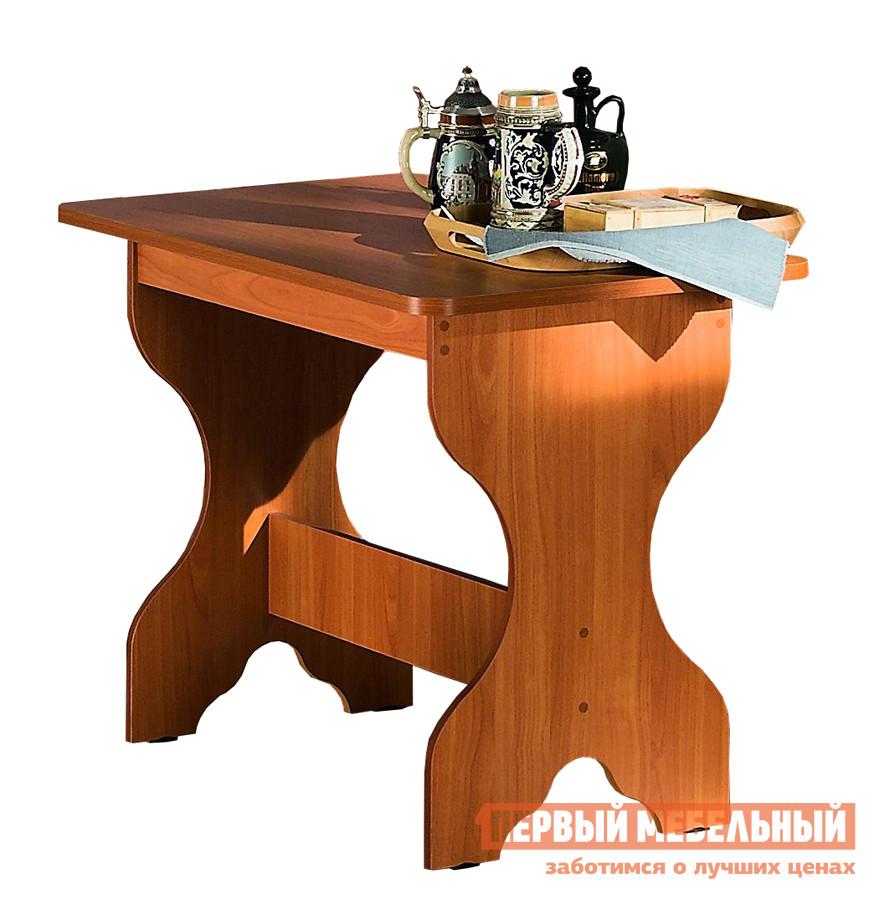 Кухонный стол МегаЭлатон Спарта ВишняКухонные столы<br>Габаритные размеры ВхШхГ 740x1000x600 мм. Аккуратный и прочный обеденный стол с резными ножками идеально впишется в обстановку классической кухни. Стол поставляется в разобранном виде в оригинальной упаковке.  Изделие выполнено из ЛДСП<br><br>Цвет: Красное дерево<br>Высота мм: 740<br>Ширина мм: 1000<br>Глубина мм: 600<br>Кол-во упаковок: 1<br>Форма поставки: В разобранном виде<br>Срок гарантии: 12 месяцев<br>Материал: Дерево<br>Материал: ЛДСП<br>Форма: Прямоугольные<br>Размер: Маленькие