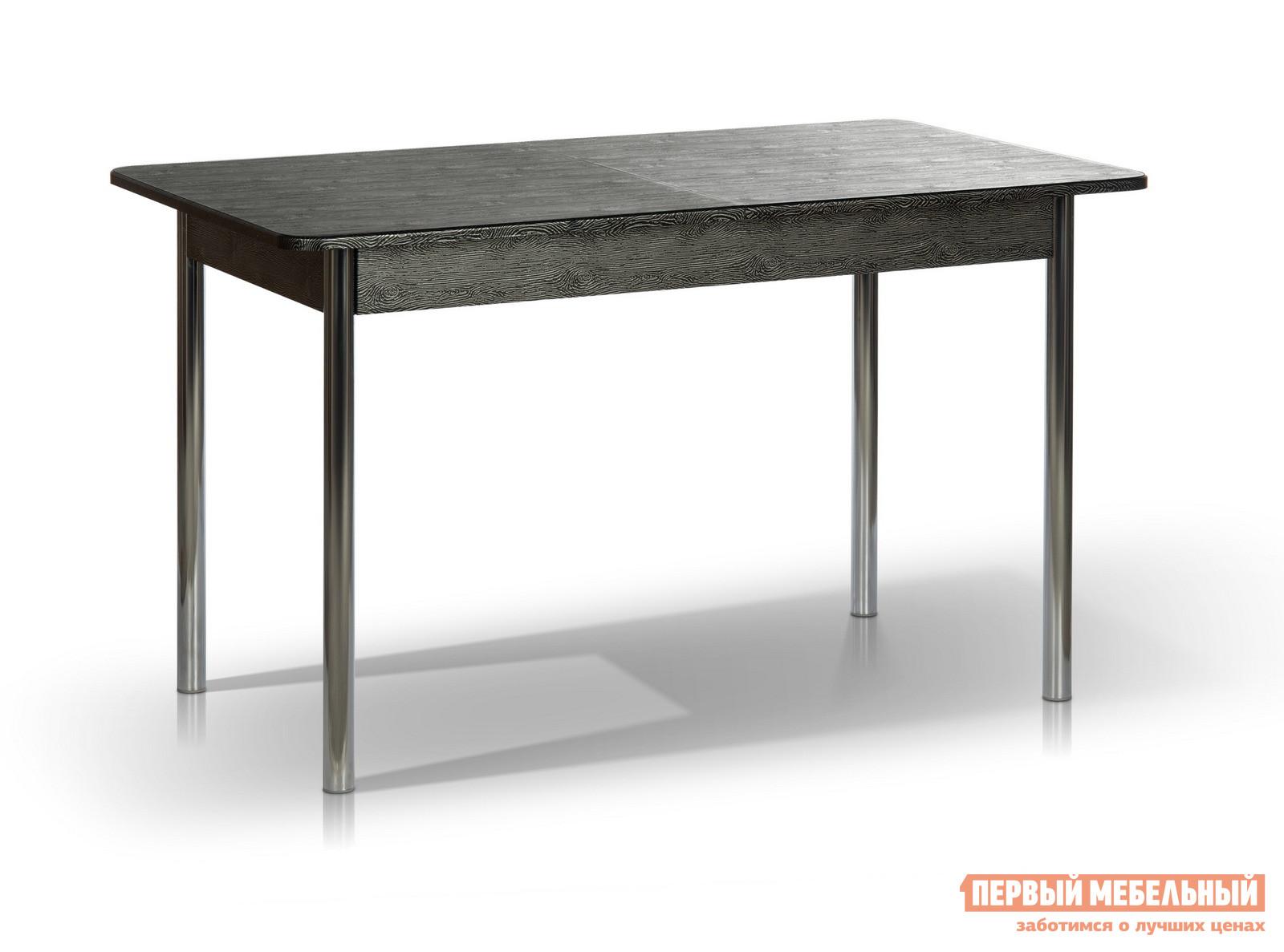 Кухонный стол МегаЭлатон Капри Дуб черный патина