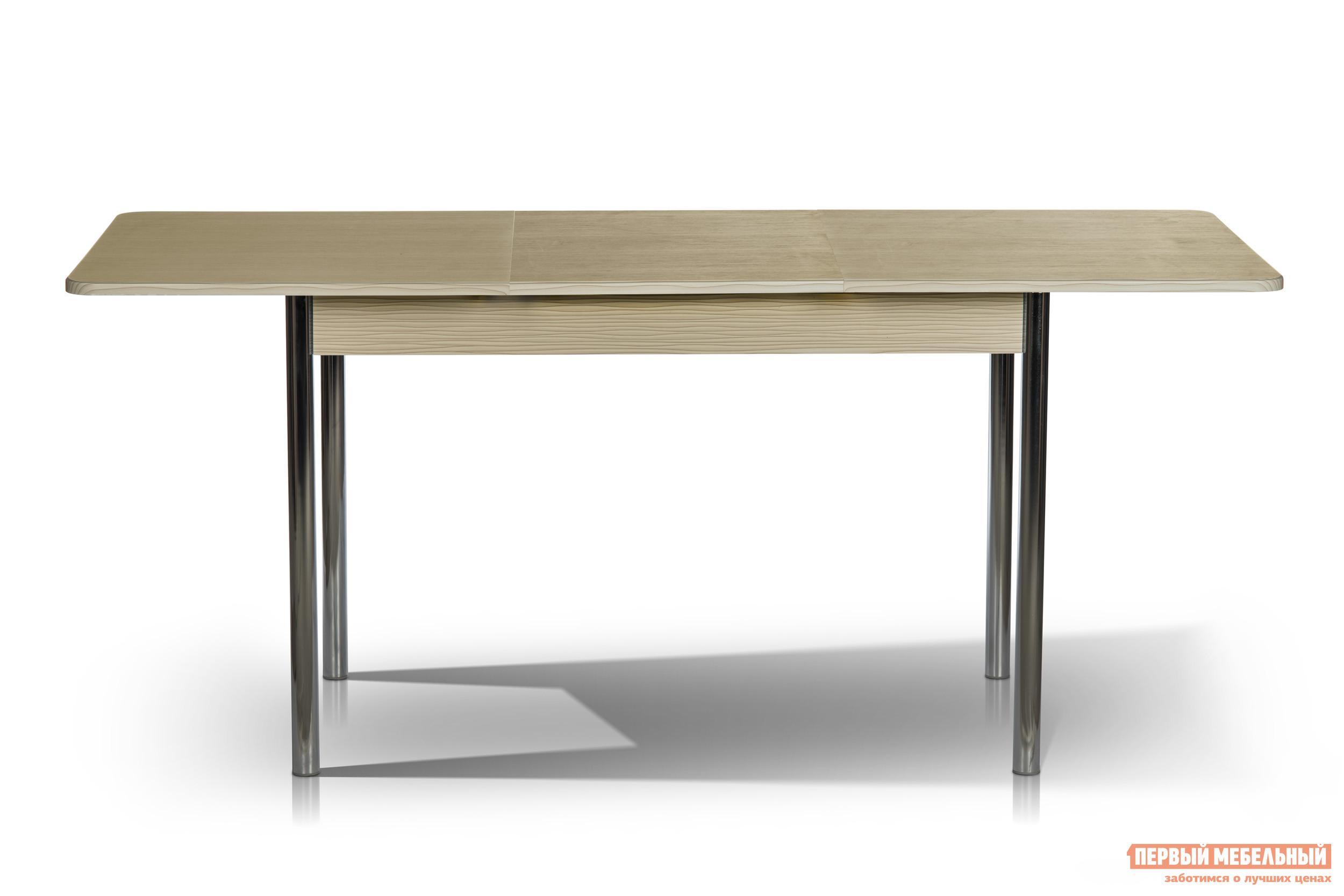 Фото Кухонный стол МегаЭлатон Капри Дым белый. Купить с доставкой