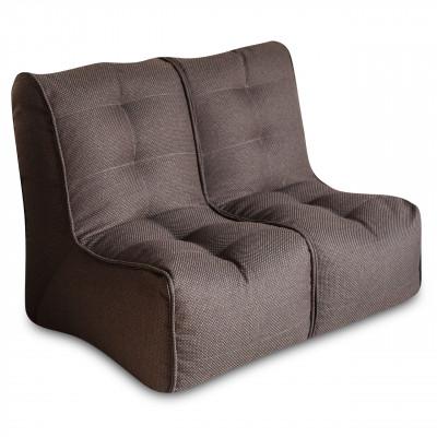 Кресло-мешок DreamBag Shape 2 секции Коричневый