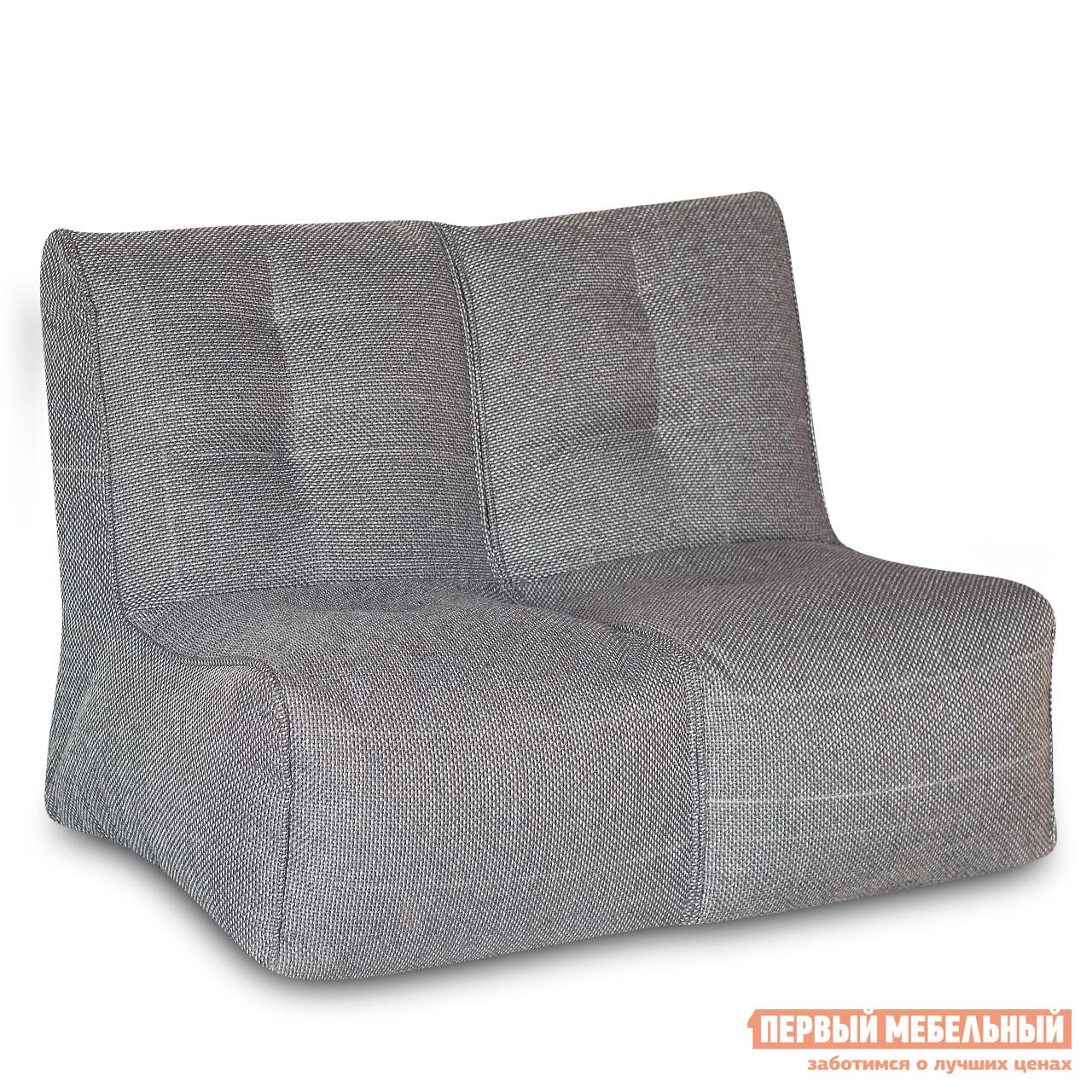 Кресло-мешок  Shape 2 секции Серый