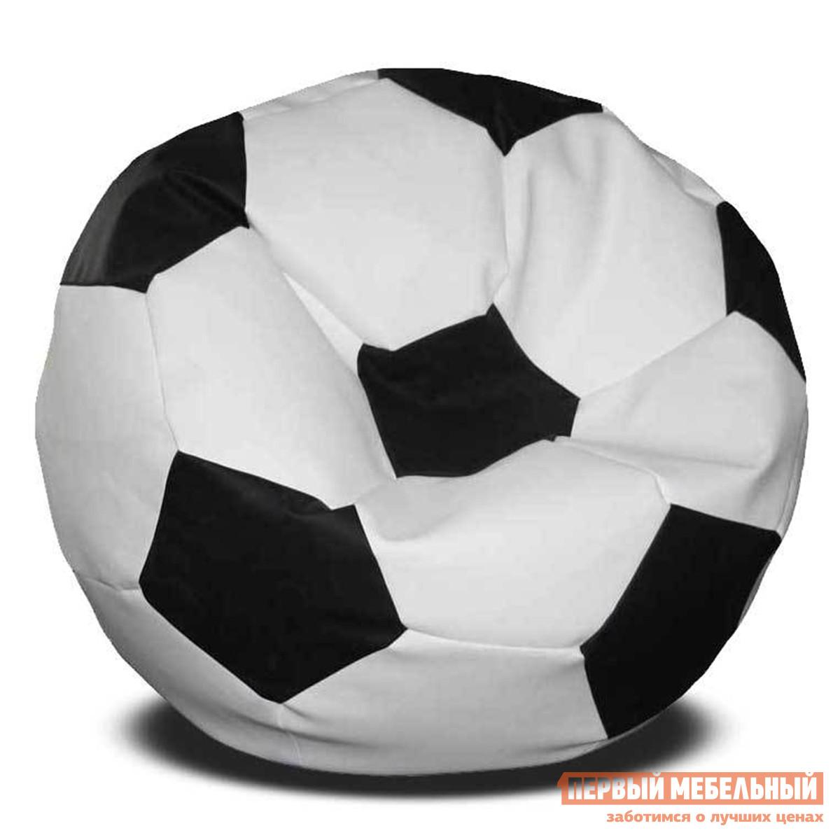 Кресло-мешок  Мяч Бело-черный DreamBag 27540