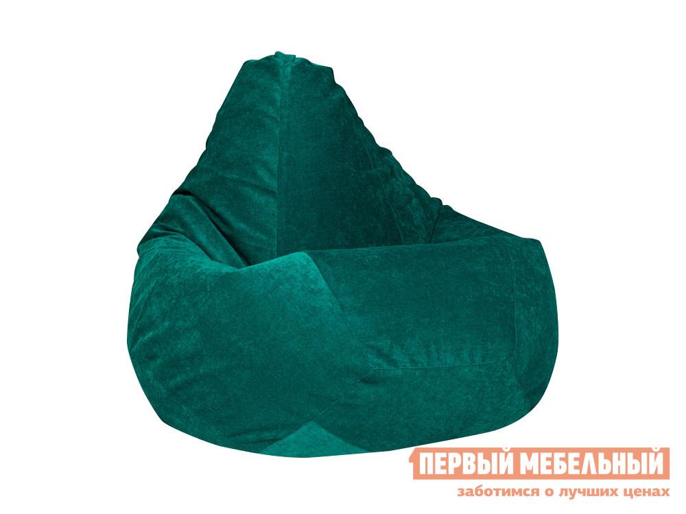 Кресло-мешок  Кресло Мешок Микровельвет Изумрудный микровельвет, 2XL — Кресло Мешок Микровельвет Изумрудный микровельвет, 2XL