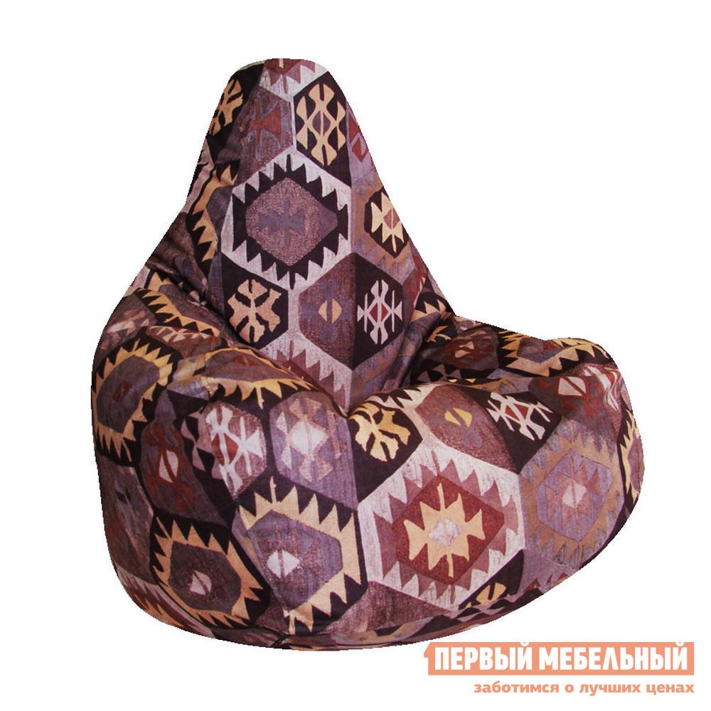 Кресло-мешок  Кресло Мешок Велюр 2XL Мехико Коричневый
