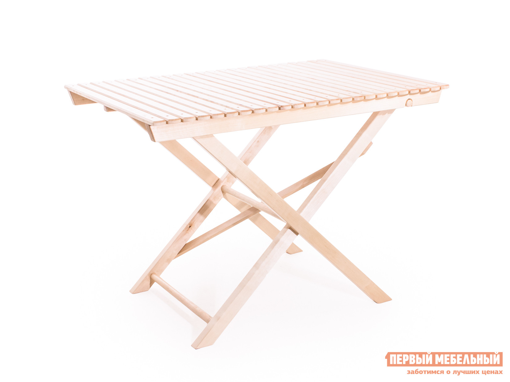 Садовый стол для кухни из массива дерева Смолянка большой складной СМ004Б