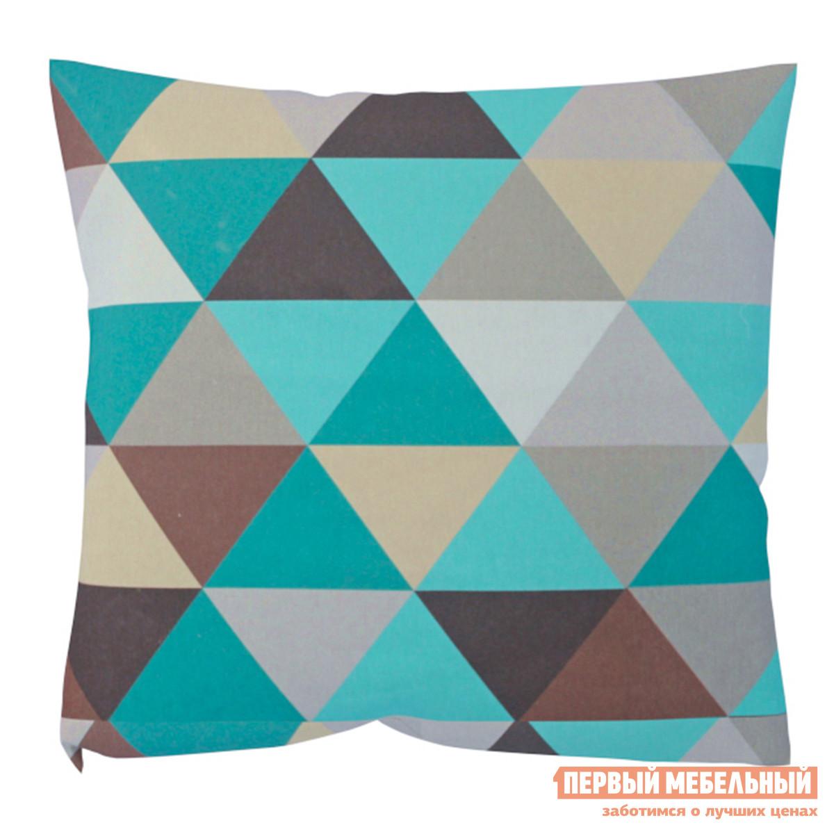 Декоративная подушка Первый Мебельный Изумруд