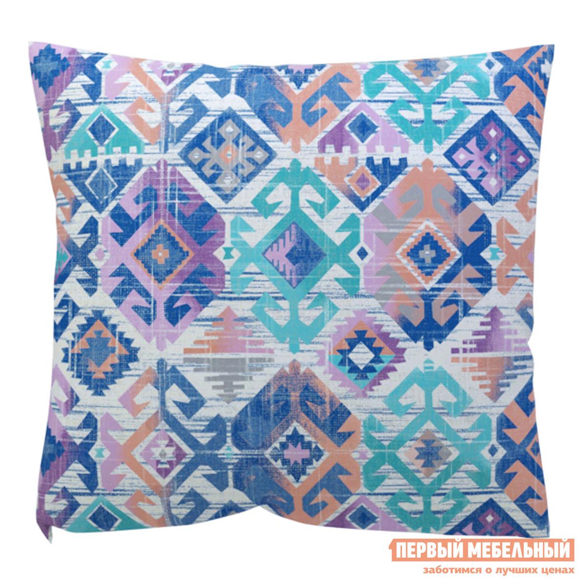 Декоративная подушка DreamBag Ясмин Голубая декоративная наволочка asabella d3 2 бело голубая