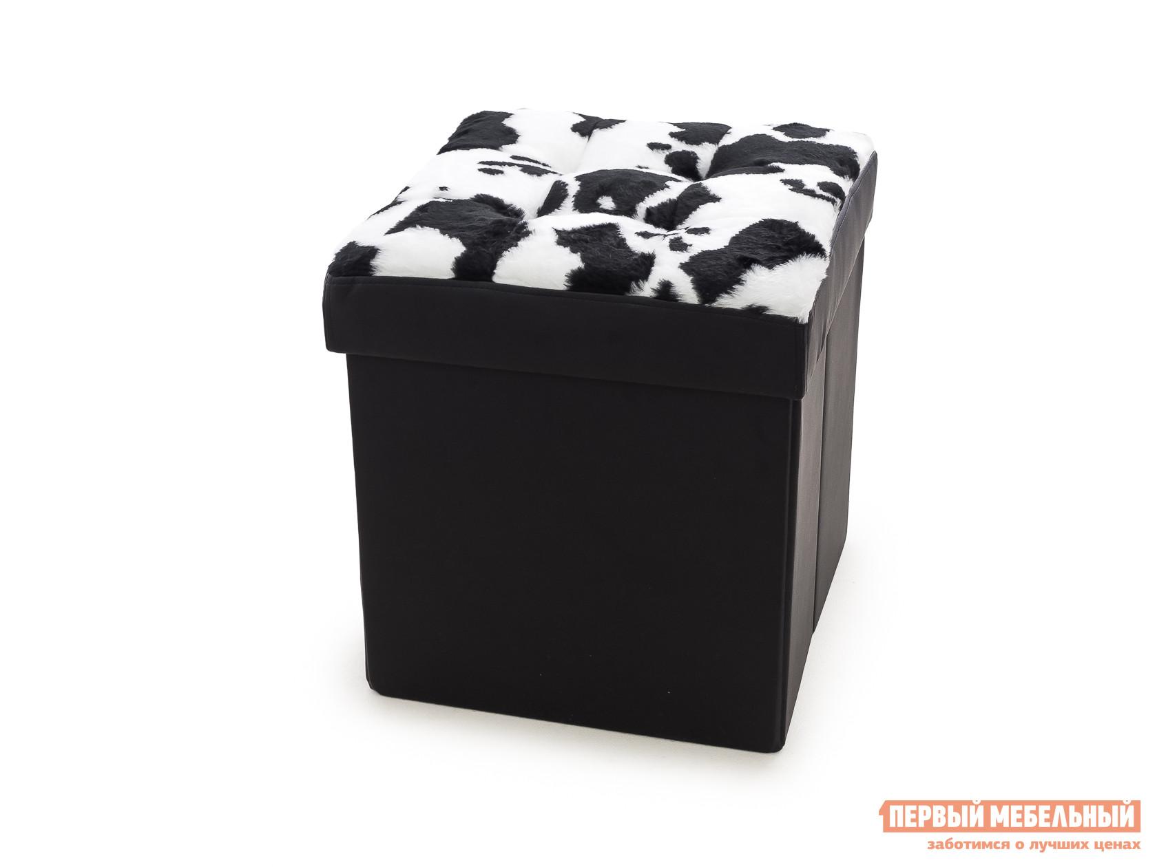 Пуфик DreamBag Пуфик складной Корова Черная корова
