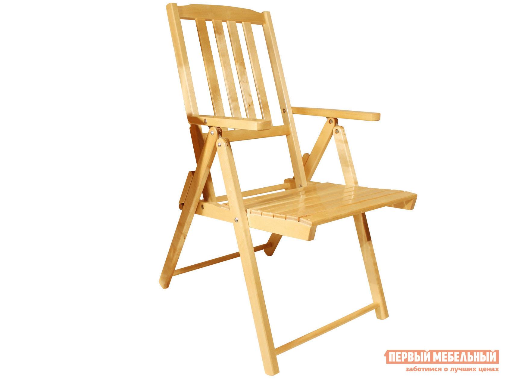Складное садовое кресло Смолянка Комфорт СМ047Б / СМ047Бт