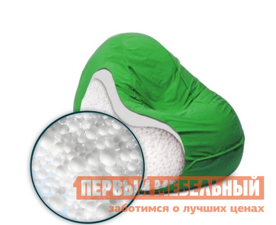 Кресло-мешок DreamBag Люкс Белый, 50 литров от Купистол