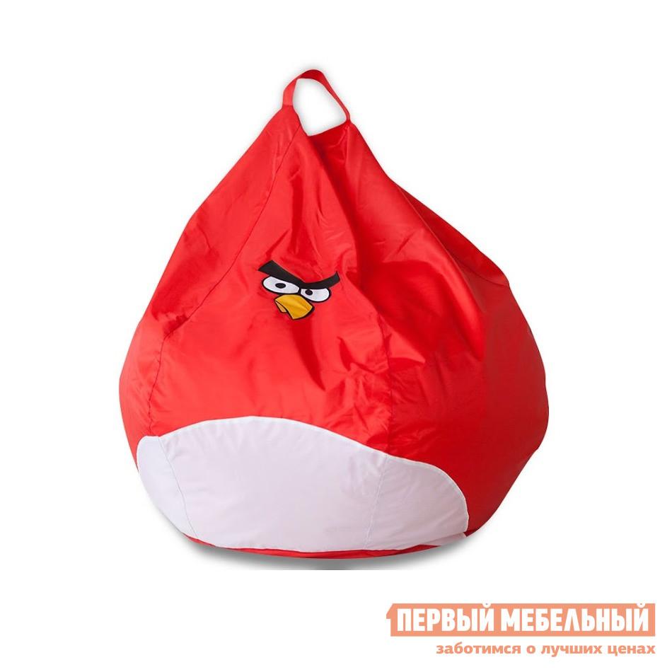 Мягкое кресло-мешок груша для детей DreamBag Злая Птичка