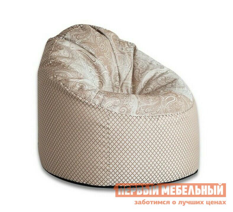 Кресло-мешок DreamBag Пенек Longoria LongoriaКресла-мешки<br>Габаритные размеры ВхШхГ 1000x1000x1000 мм. Бескаркасное кресло — отличное решение для современного интерьера.  Модель не только эстетически красива, но и функциональна.  В кресле удобно и комфортно отдыхать.  Форма и наполнение кресла обеспечивает удобную посадку, а вместе с тем расслабляющий эффект. Изделие имеет два чехла: внешний и внутренний.  Внешняя обивка выполнена из структурного шенилла (100% полиэстер), а сиденье из жаккарда.  Внешний чехол съемный, поэтому при загрязнении, его легко можно снять и постирать.  Внутри кресло наполнено гранулами пенополистирола, которые имеют диаметр 1-3 мм.  Из-за небольшого размера гранул модель прекрасно поддерживает форму и является эргономичной. Внутренний мешок имеет объем 350 литров.<br><br>Цвет: Longoria<br>Цвет: Бежевый<br>Высота мм: 1000<br>Ширина мм: 1000<br>Глубина мм: 1000<br>Форма поставки: В собранном виде<br>Срок гарантии: 6 месяцев<br>Тип: Пенёк<br>Материал: из ткани, Из жаккарда<br>Размер: L