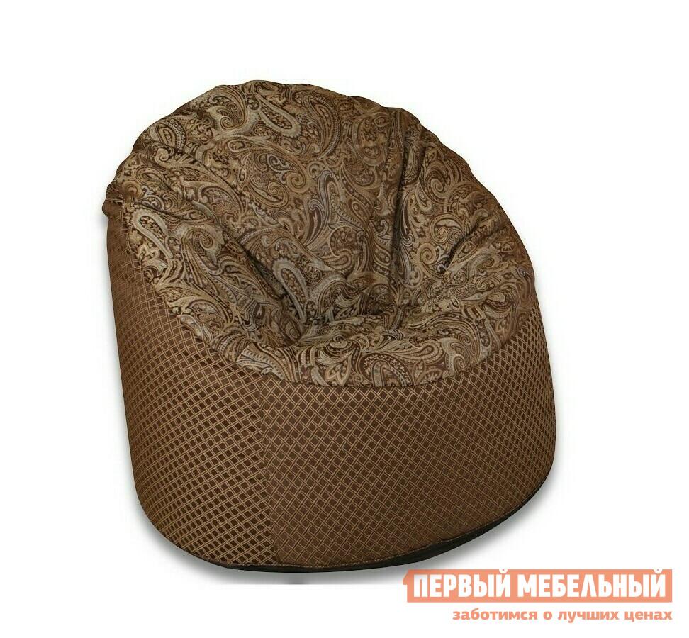 Кресло-мешок DreamBag Пенек Longoria ChokolateКресла-мешки<br>Габаритные размеры ВхШхГ 1000x1000x1000 мм. Бескаркасное кресло — отличное решение для современного интерьера.  Модель не только эстетически красива, но и функциональна.  В кресле удобно и комфортно отдыхать.  Форма и наполнение кресла обеспечивает удобную посадку, а вместе с тем расслабляющий эффект. Изделие имеет два чехла: внешний и внутренний.  Внешняя обивка выполнена из структурного шенилла (100% полиэстер), а сиденье из жаккарда.  Внешний чехол съемный, поэтому при загрязнении, его легко можно снять и постирать.  Внутри кресло наполнено гранулами пенополистирола, которые имеют диаметр 1-3 мм.  Из-за небольшого размера гранул модель прекрасно поддерживает форму и является эргономичной. Внутренний мешок имеет объем 350 литров.<br><br>Цвет: Chokolate<br>Цвет: Коричневый<br>Высота мм: 1000<br>Ширина мм: 1000<br>Глубина мм: 1000<br>Форма поставки: В собранном виде<br>Срок гарантии: 6 месяцев<br>Тип: Пенёк<br>Материал: из ткани, Из жаккарда<br>Размер: L