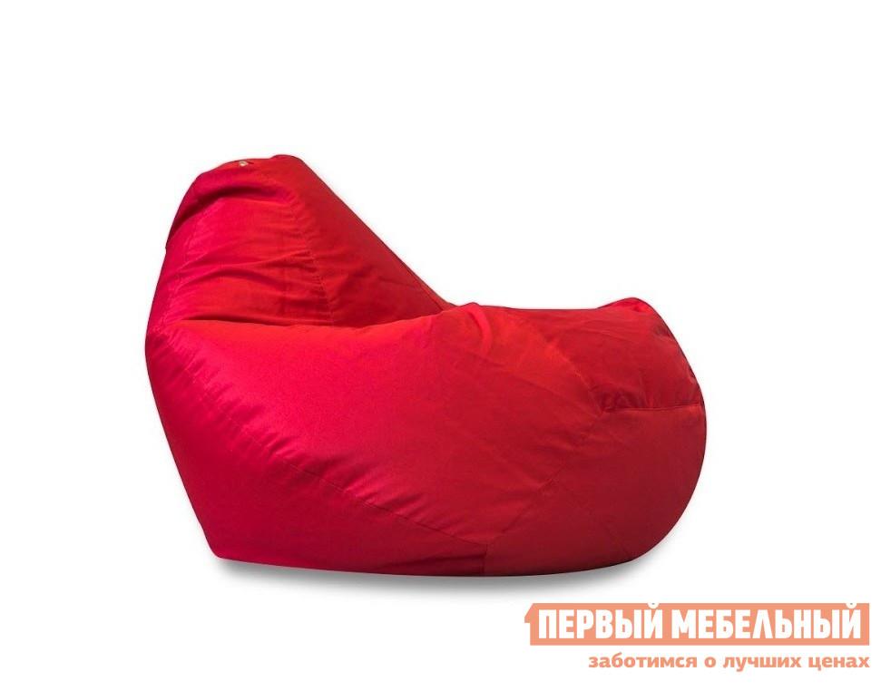 Кресло-мешок DreamBag Кресло Мешок III КрасныйКресла-мешки<br>Габаритные размеры ВхШхГ 1400x1100x1100 мм. Большое и вместительное кресло-мешок позволит с комфортом расположиться на нем не только сидя, но и лежа.  Благодаря разнообразию расцветок, вы сможете подобрать подходящий по души и под стиль интерьера. Наружный чехол выполнен из качественной и практичной ткани — «оксфорд», она долговечна и неприхотлива в уходе.  Эта ткань обладает водоотталкивающими свойствами, термоустойчива, а так же обладает износостойкими качествами.  Чехол съемный, его можно стирать в машинке.  Во внутреннем чехле находятся гранулы пенополистирола диаметром 1-3 мм.  Благодаря этим гранулам создается эргономичный эффект и изделие отлично держит форму.   Максимальная нагрузка на кресло составляет 110 кг. Внутренний мешок имеет объем 300 литров.<br><br>Цвет: Красный<br>Цвет: Красный<br>Высота мм: 1400<br>Ширина мм: 1100<br>Глубина мм: 1100<br>Форма поставки: В собранном виде<br>Срок гарантии: 6 месяцев<br>Тип: Груша<br>Назначение: Для улицы<br>Материал: из ткани, Из ткани Оксфорд<br>Размер: XXL