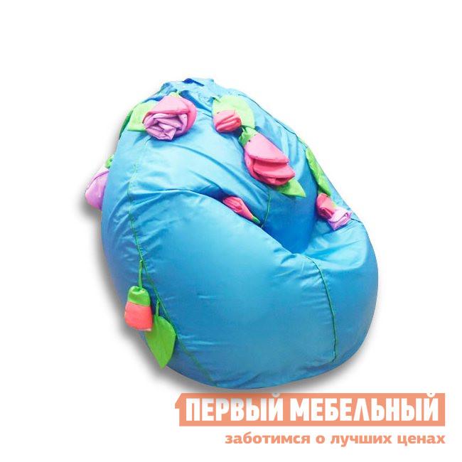 Детское мягкое кресло-мешок DreamBag Розы пуф dreambag круг cherry