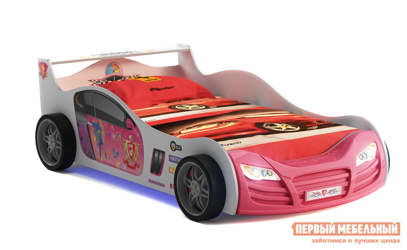 Детская кровать-машина для девочки Грифон GSR-8008 /