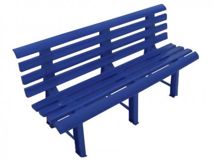 Пластиковая скамья