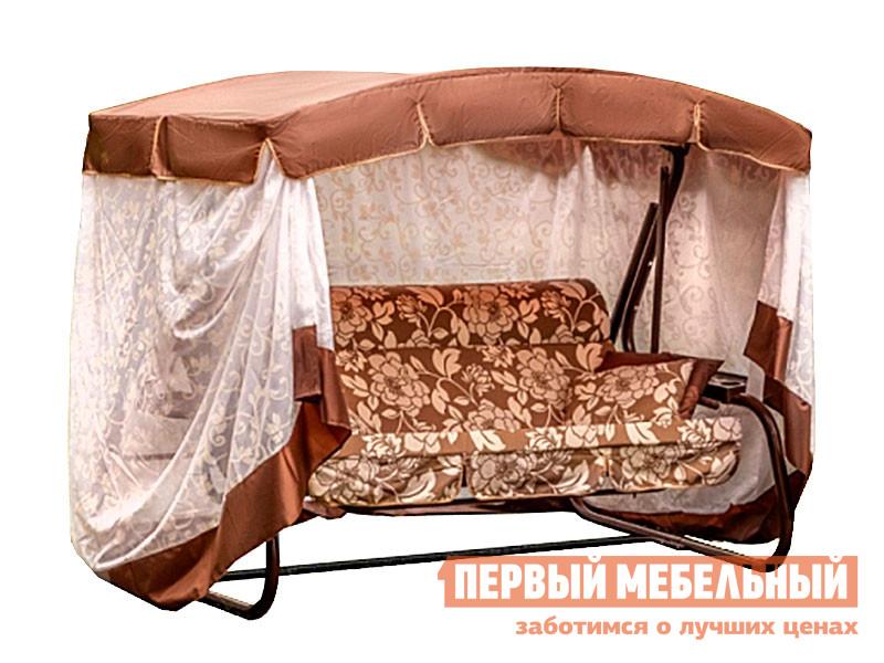 Садовые качели Первый Мебельный Качели садовые 3-х местные Азалия арт.с1107