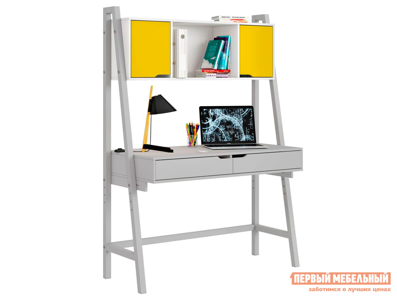 Письменный стол ВПК Стол письменный Polini kids Mirum 1446 высокий с полкой