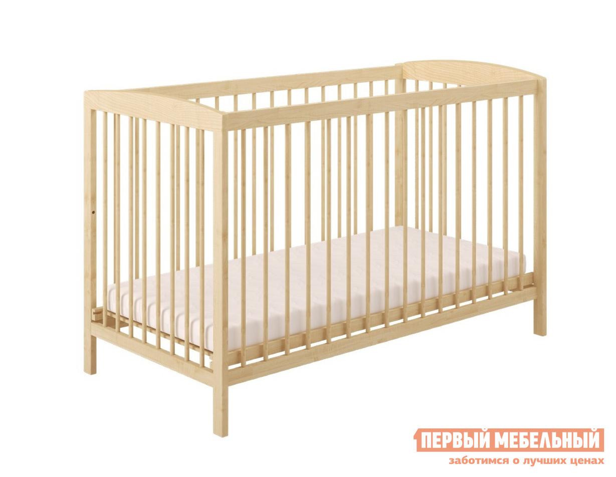 Кроватка  Кроватка детская Polini kids Simple 101 Натуральный