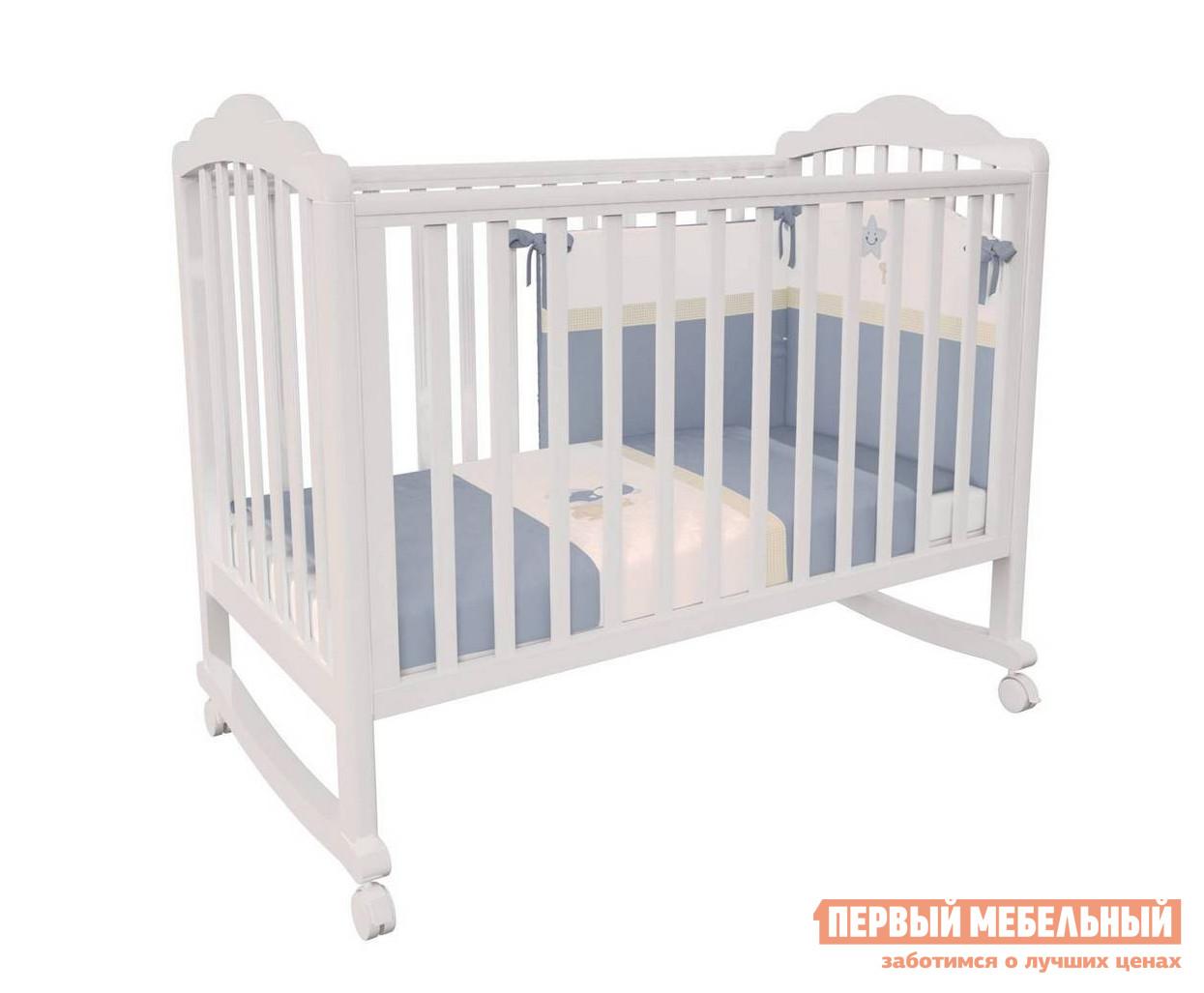 Кроватка ВПК Кроватка детская Polini kids Classic 621 кроватка трансформер polini polini kids simple 1100 с комодом