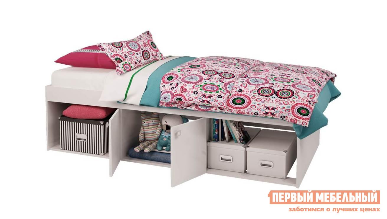 Детская кровать ВПК Кровать детская Polini kids Simple 3000 с нишами двухъярусная кровать для детей впк кровать 2 х ярусная polini kids simple 5000