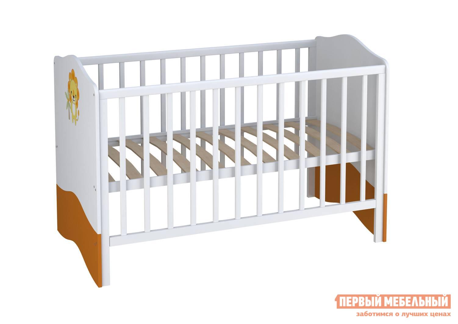 Кроватка-трансформер ВПК Кроватка детская Polini kids Basic цены онлайн