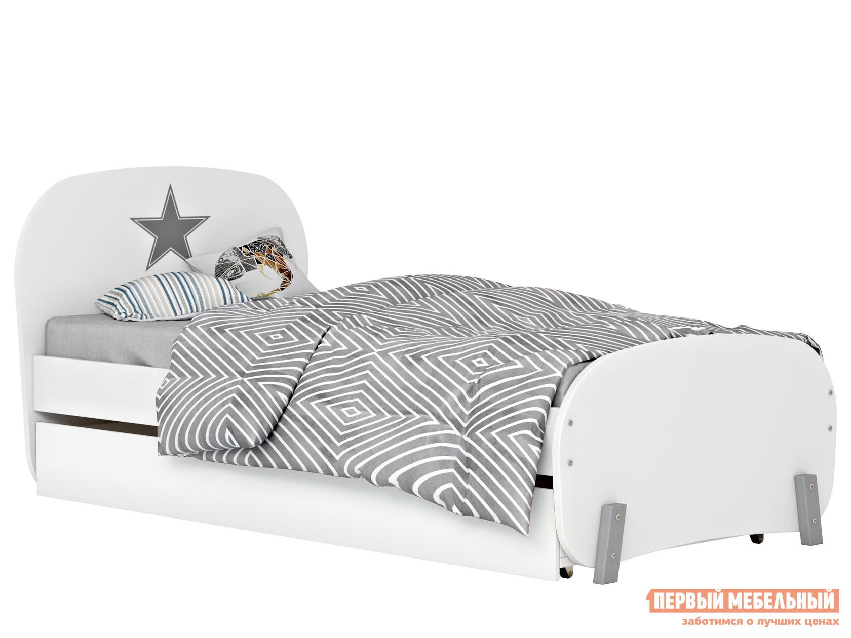 Детская кровать ВПК Кровать детская Polini kids Mirum 1915 c ящиком