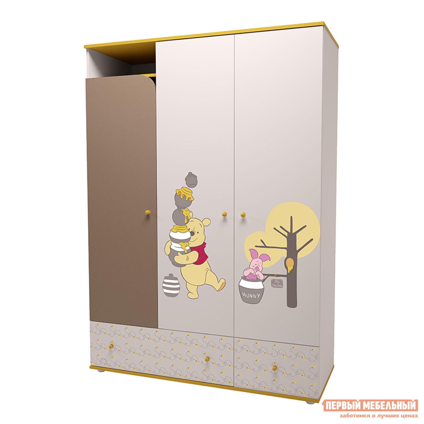 Шкаф детский ВПК Шкаф трехсекционный Polini kids Disney baby