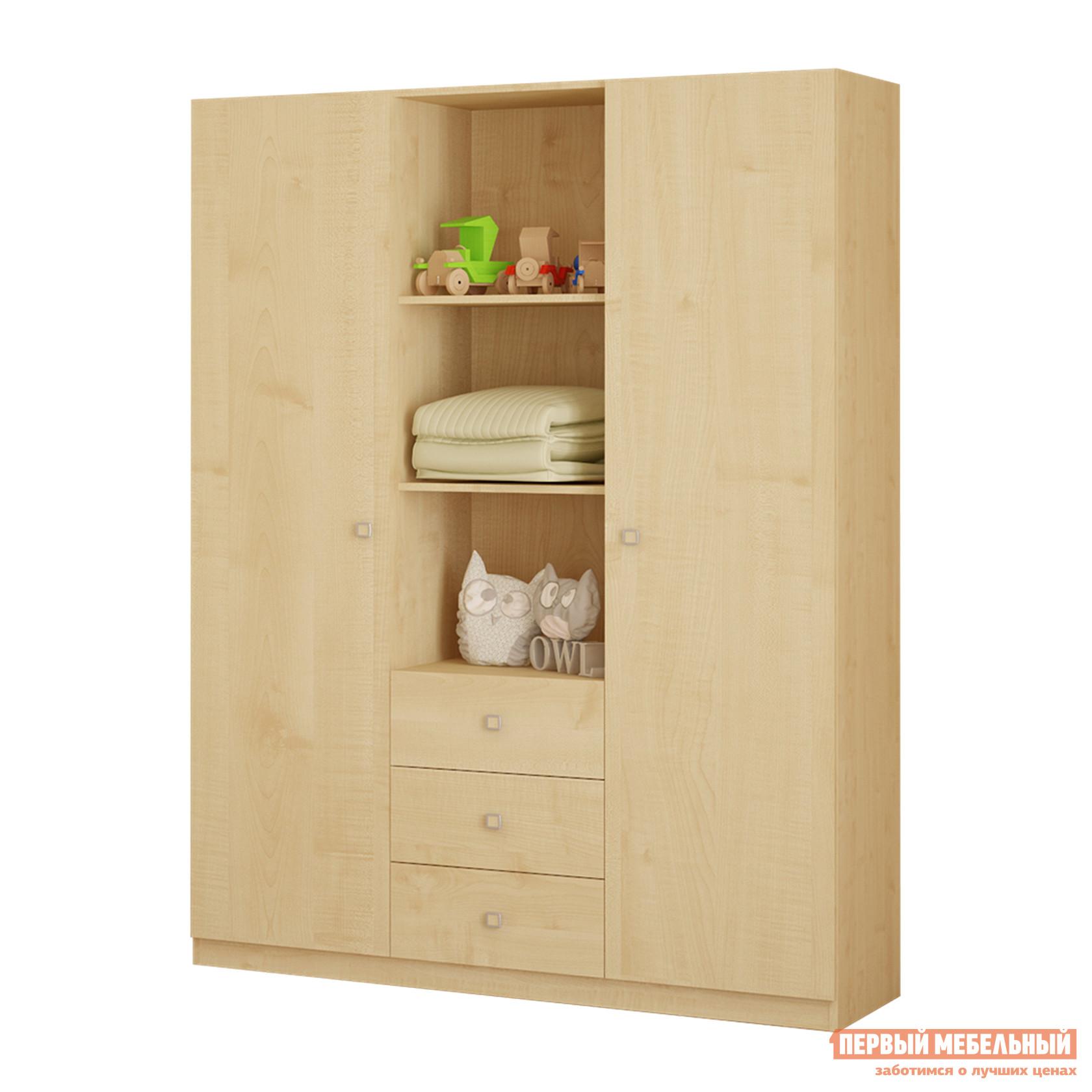 Шкаф детский ВПК Шкаф трехсекционный Polini kids Simple