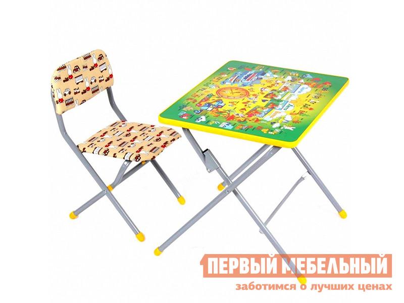 Столик и стульчик ВПК Фея Досуг 201 комплект мебели впк фея досуг 301