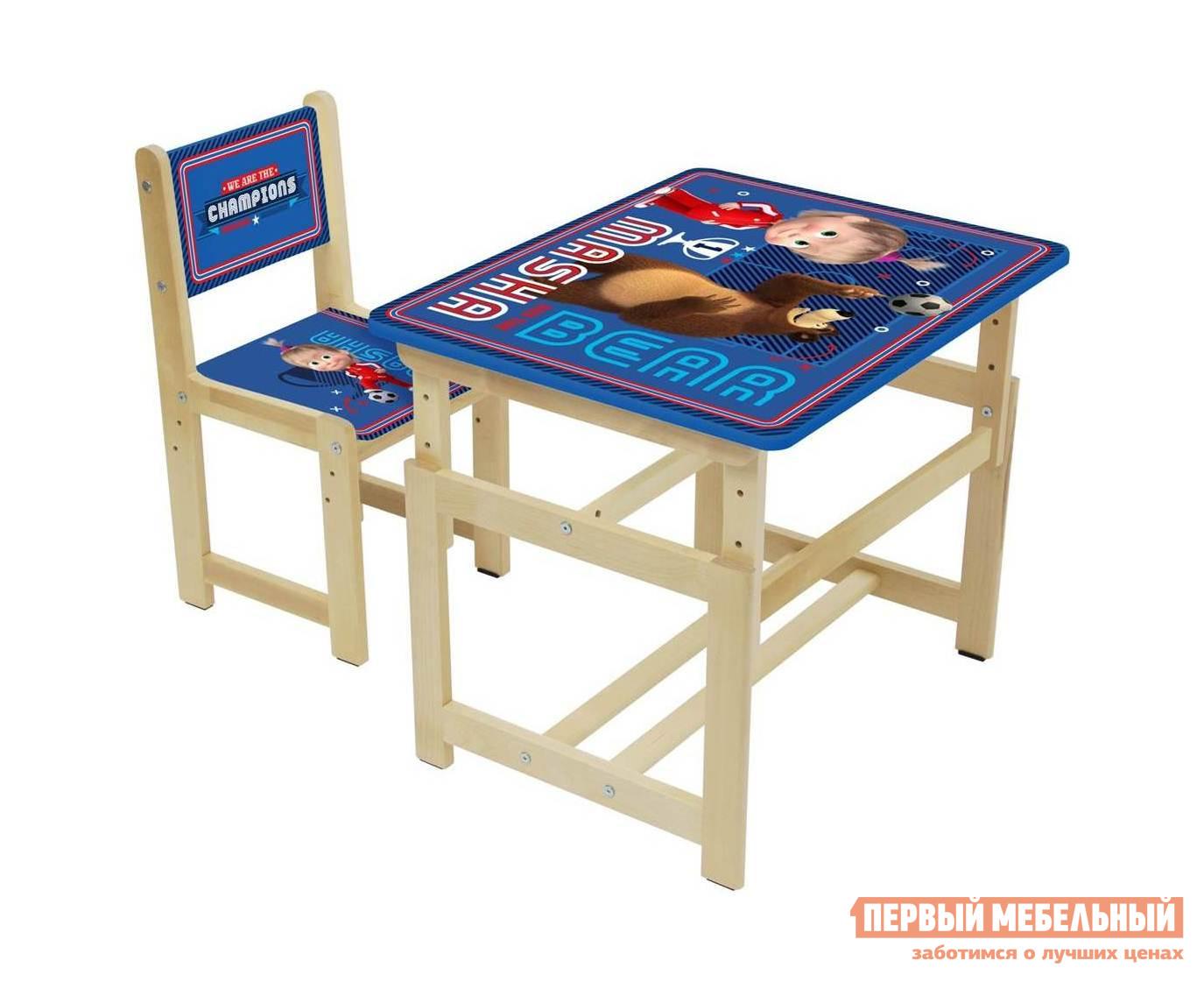 Столик и стульчик ВПК Комплект растущей детской мебели Polini kids Fun 400 SM 68х55