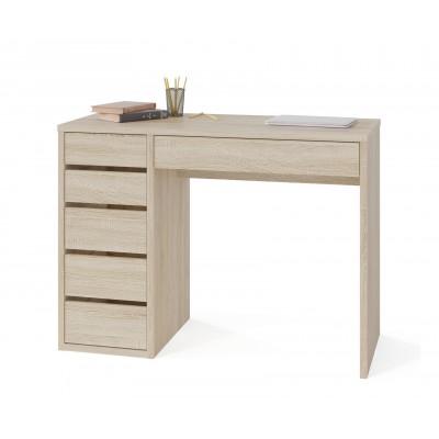Письменный стол Тайга СПм-10 Дуб Сонома, Левый